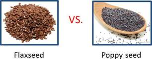 flax vs poppy