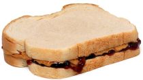 PB and J sandwich