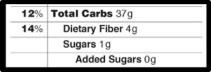 fda added sugar